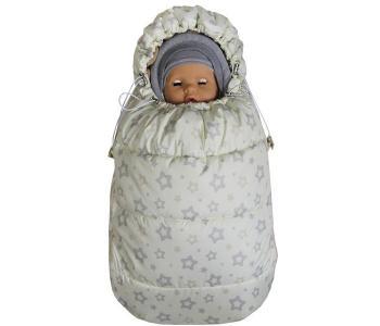 Демисезонный конверт для новорожденного Бемби Звезда Топотушки