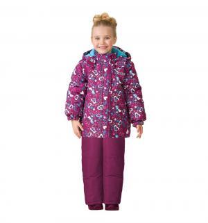 Комплект куртка/брюки  Звезда любви, цвет: фиолетовый Ma-Zi-Ma by Premont