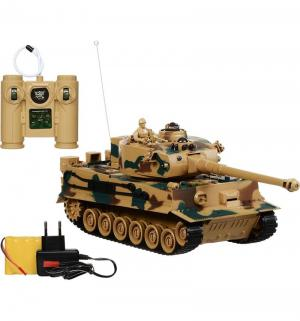 Радиоуправляемая игрушка  Танк 1 : 28 Пламенный мотор
