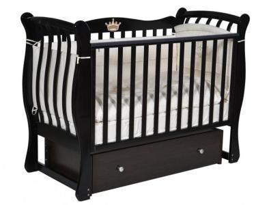 Детская кроватка  Viola 3 автостенка универсальный маятник Кедр
