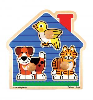 Пазл  Домик с животными Melissa&Doug