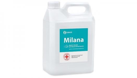 Жидкое мыло-пенка Milana Антибактериальное 5 кг Grass