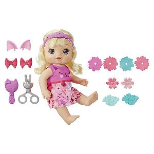 Интерактивная кукла Baby Alive Малышка у парикмахера Hasbro. Цвет: разноцветный