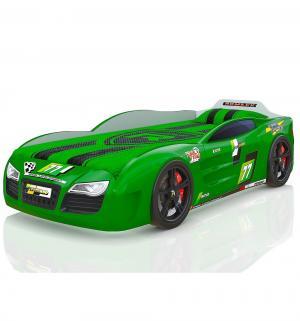 Кровать-машинка  Renner 2, цвет: зеленый Romack