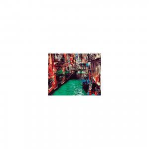 Холст с красками по номерам Канал в Венеции 40х50 см Издательство Рыжий кот