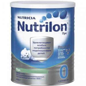 Молочная смесь  Premium Пре PronutriPlus 0-6 месяцев, 400 г Nutrilon