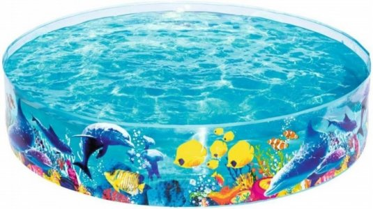 Каркасный бассейн Морская одиссея 183х38 см Bestway