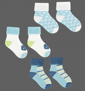 Носки, цвет: голубой Happy baby days