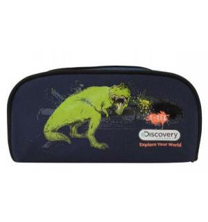 Пенал  Discovery T-Rex Action. Цвет: синий
