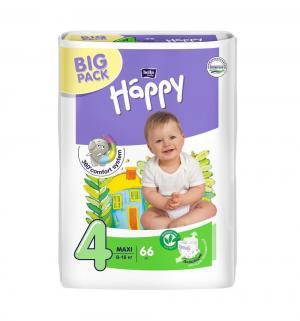 Подгузники  Maxi 4 (8-18 кг) 66 шт. Bella Baby Happy