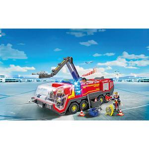 Конструктор Playmobil Городской Аэропорт Пожарная машина со светом и звуком PLAYMOBIL®