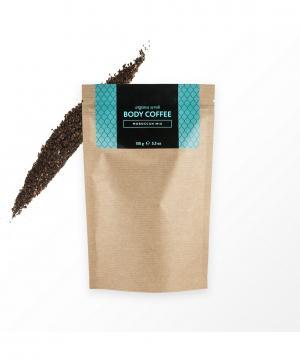 Аргановый кофейный скраб Марокканский микс, 150 г Huilargan