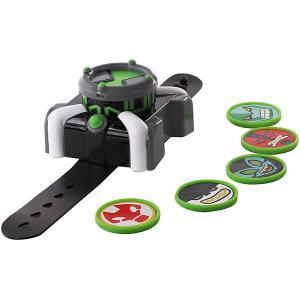 Часы Playmates Ben 10 «Омнитрикс, дискомет». Цвет: grau/grün