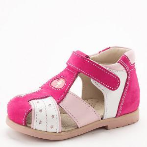 Сандалии Ortopedia. Цвет: розовый/белый