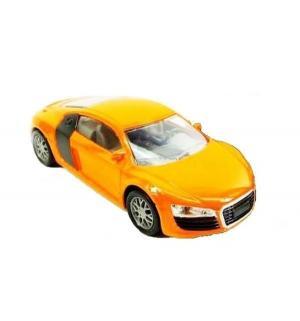 Машинка  Audi R8 оранжевая 19 см Пламенный мотор