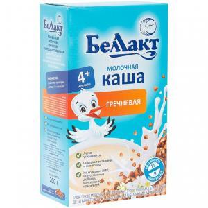 Каша  молочная гречневая с 4 месяцев 200 г Беллакт