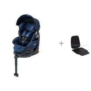 Автокресло  Fladea Grow Isofix 360° Safety Premium с чехлом-накладкой для сиденья автомобиля Happy Baby Aprica