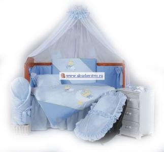 Комплект в кроватку  Little Bee (7 предметов) Tuttolina