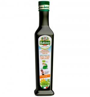 Масло  Organic Оливковое, 250 мл Basso