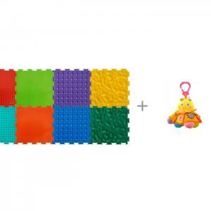 Игровой коврик  модульный Набор №2 Малыш и Подвесная игрушка Forest Осьминожка ОртоДон