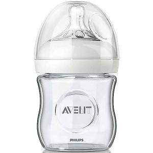 Стеклянная бутылочка Natural 120 мл, 0мес+, Philips Avent