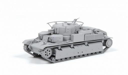 Сборная модель Советский средний танк Т-28 Звезда