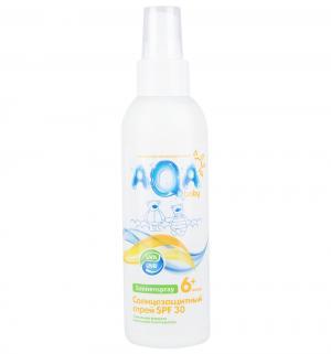 Спрей для ухода за кожей AQA baby солнцезащитный SPF 30