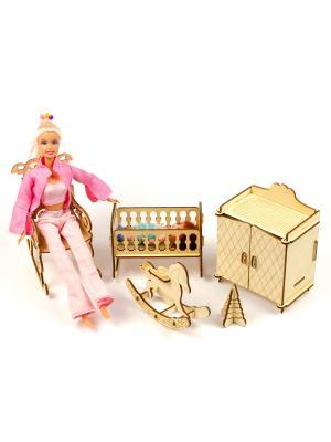 Мебель для кукол Детская Теремок
