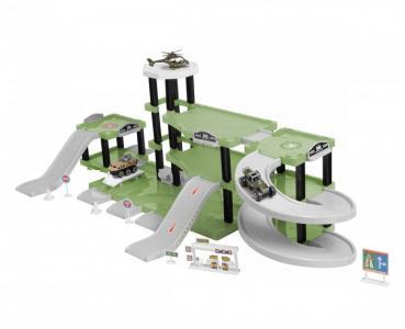 Паркинг 3-уровневый Военная часть (57 деталей) BeBoy