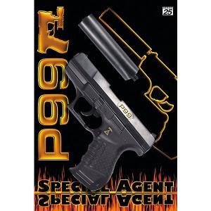 Пистолет  Special Agent P99, 29,8 см Sohni-Wicke. Цвет: черный