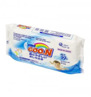 Влажные салфетки  для младенцев утолщенные, 70 шт Goon
