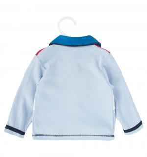 Комплект боди/кофта/штанишки/чепчик , цвет: голубой Nannette