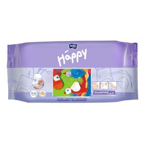 Влажные салфетки  Baby Happy Classic с витамином Е и аллантоином, 64 шт Bella