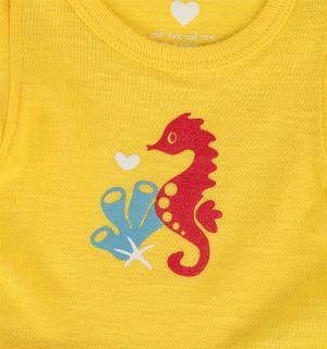 Боди , цвет: желтый Reima