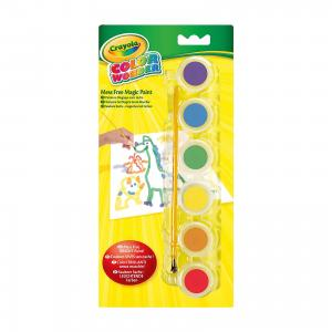 Краски, 6 цветов, Crayola