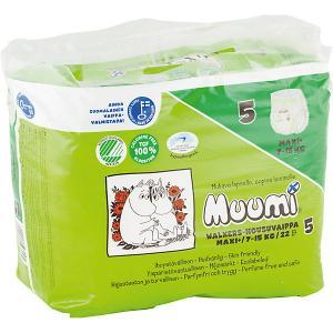 Подгузники-трусики  Maxi Plus 10-15 кг, 22 штуки Muumi