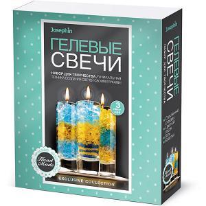 Набор для создания гелевых свечей Josephin, № 1 Josephine. Цвет: разноцветный