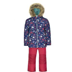 Комплект : куртка и полукомбинезон Gusti. Цвет: синий