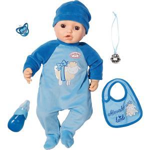 Многофункциональная кукла-мальчик  Baby Annabell, 43 см Zapf Creation