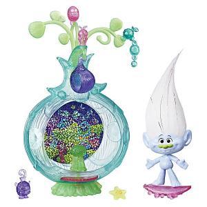 Игровой набор Trolls Волшебный кокон Дискотека Hasbro. Цвет: серый