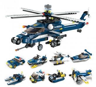 Полицейский вертолёт (381 деталь) Enlighten Brick