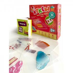 Развивающая игрушка  Пазл конструктор Микскод Кексы Pic`n Mix