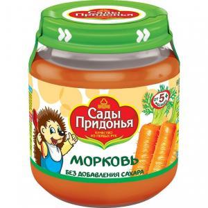 Пюре  морковь с 5 месяцев, 120 г Сады Придонья