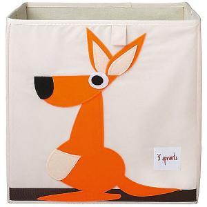 Коробка для хранения  Кенгуру 3 Sprouts. Цвет: оранжевый