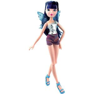 Кукла  Рок-н-ролл Муза Winx Club. Цвет: разноцветный