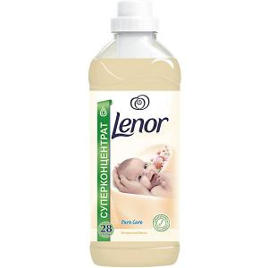 Кондиционер для детского белья  с миндальным маслом 1 л Lenor. Цвет: бежевый