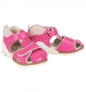 Сандалии , цвет: розовый Minimen