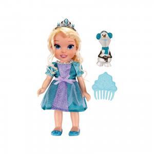 Кукла-малышка Холодное Сердце со снеговиком - Эльза, 15 см Jakks Pacific
