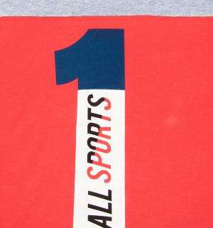 Футболка  Спорт, цвет: красный Leader Kids