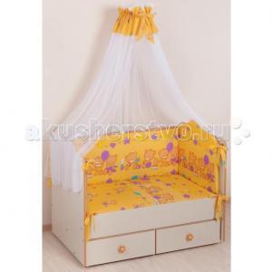 Комплект в кроватку  59.2 (7 предметов) Селена (Сдобина)